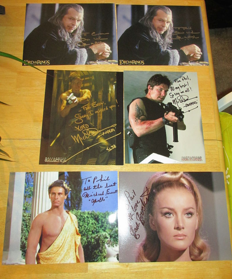 Shore Leave 38 Autographs