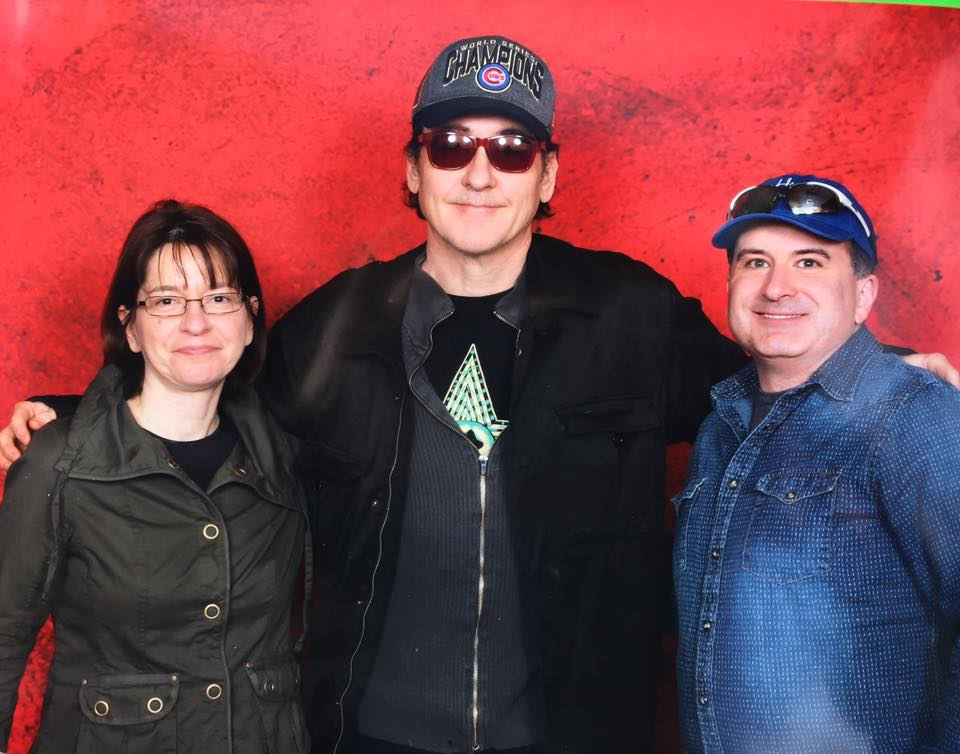 My wife and I met John Cusack at Monster Mania!
