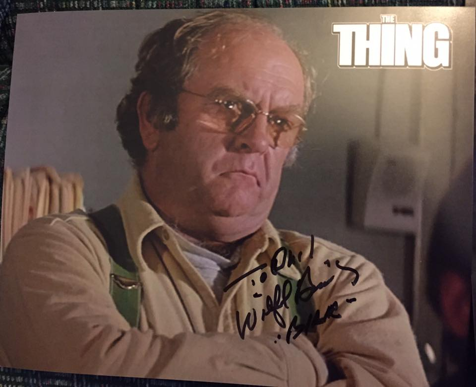 Wilfred Brimley autograph