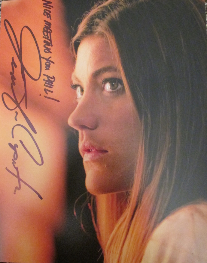 Jennifer Carpenter Autograph