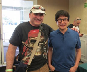 Phil with Ke Huy Quan