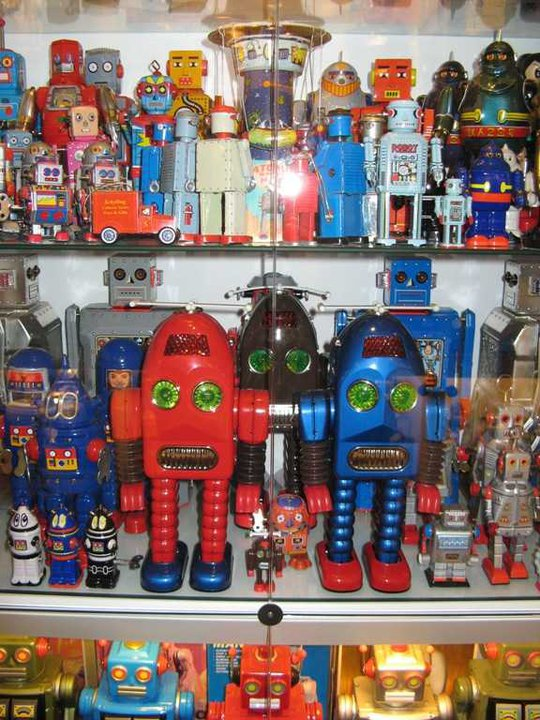 Robots on Display!