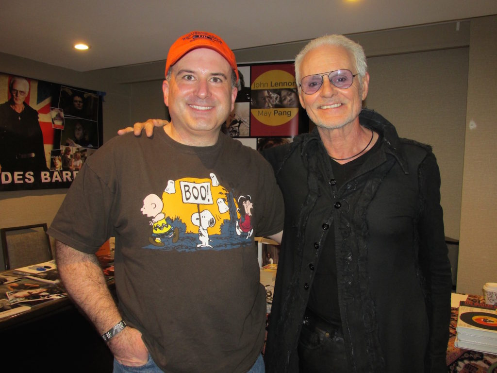 Phil with Michael Des Barres at Chiller Theatre