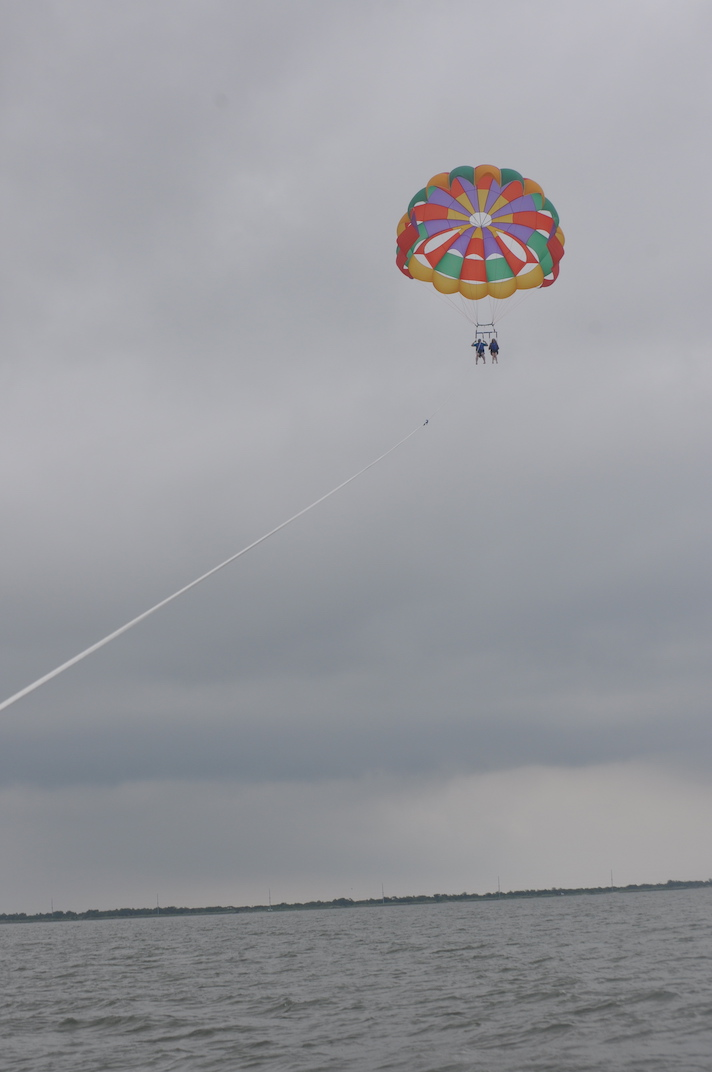 Parasailing Phil Giunta E Cadet In The Middle Of Eternity