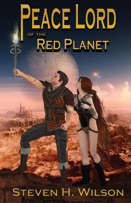 Peace Lord of the Red Planet book cover