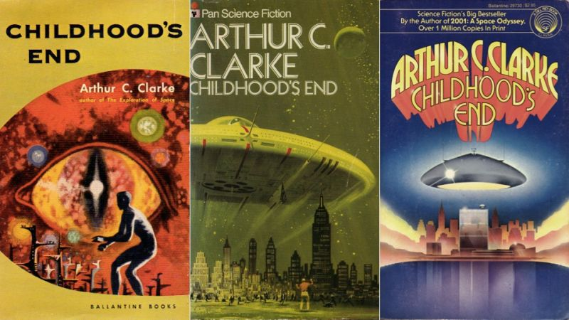 Childhood's End Book Covers