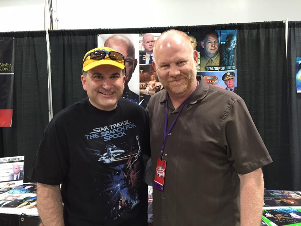 Phil meets Glenn Morshower