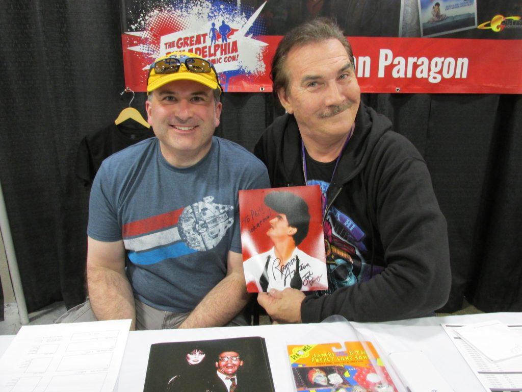 Phil meets John Paragon
