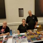 Peter, Bob, Michael, at Meet the Pros