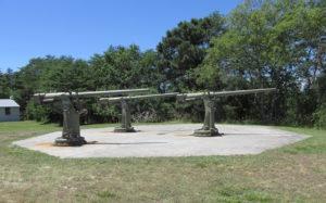 Fort Miles Three Guns
