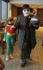 Joker with Bomb