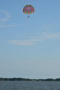 Parasailing in Dewey Beach