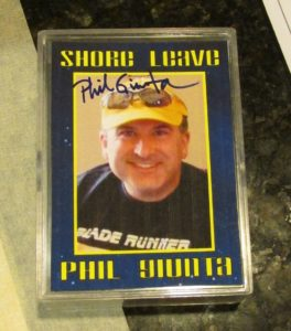 Phil on Trading Card