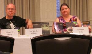 Stu and Sue at Firebringer Panel