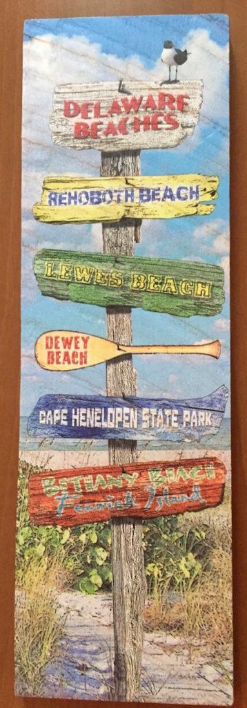 Delaware Beaches Plaques