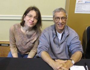 Evon with Nicholas Meyer