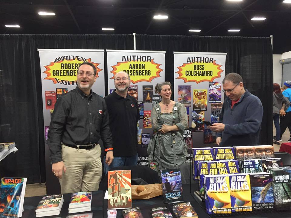 Crazy 8 Press at Great Philly Comic Con
