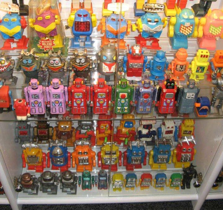 Robot Display Case