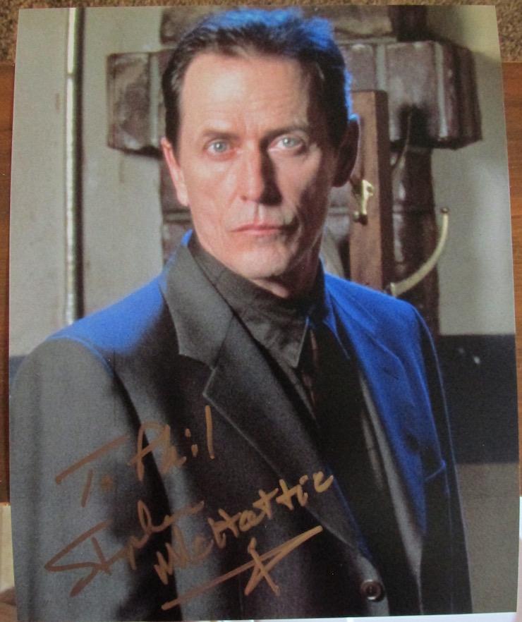Stephen McHattie Autograph