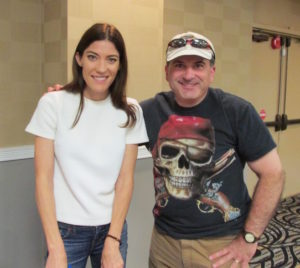 Phil with Jennifer Carpenter