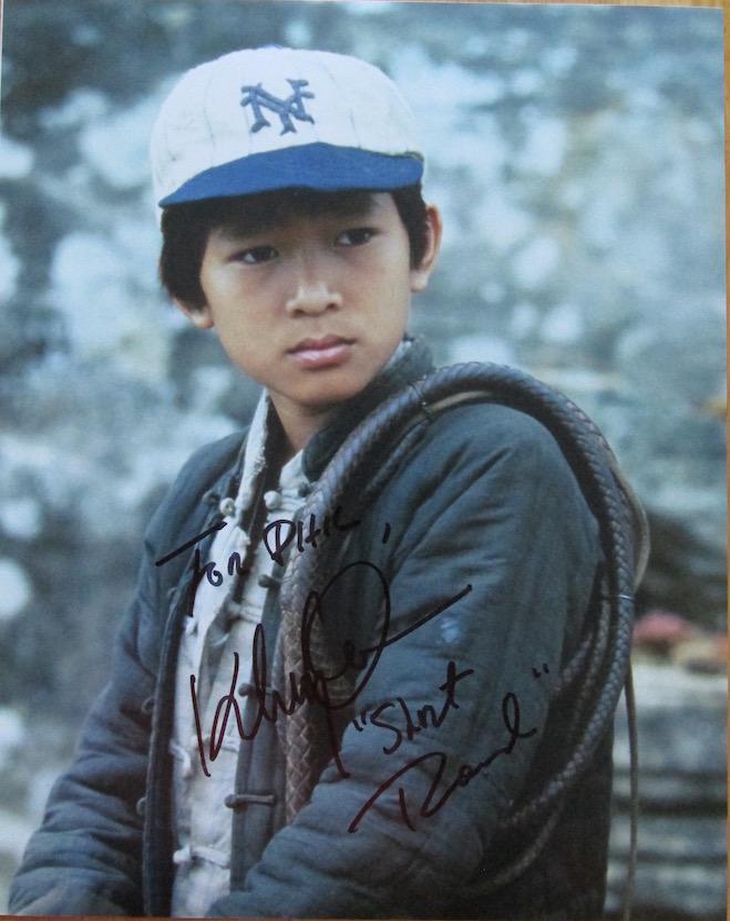 Ke Huy Quan Autograph