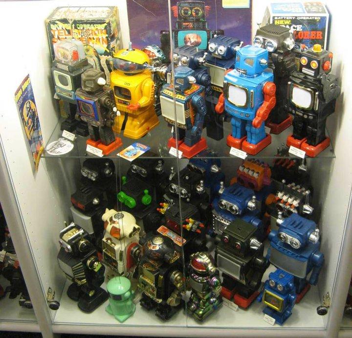 Robots on Display!