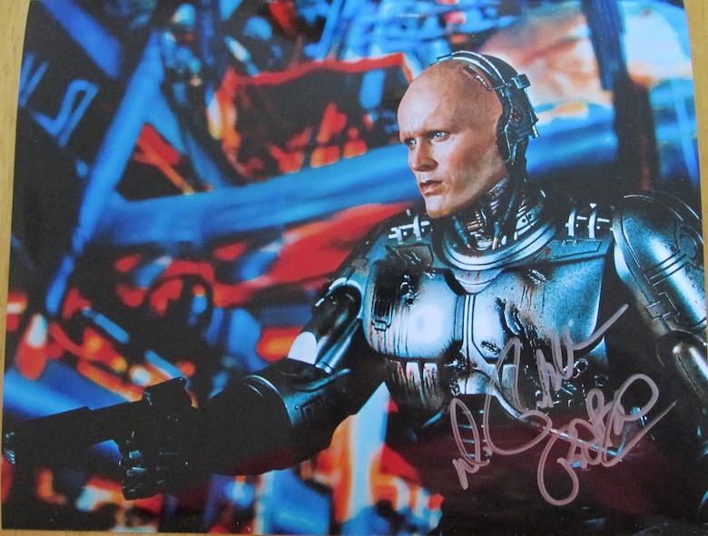 Peter Weller Autograph