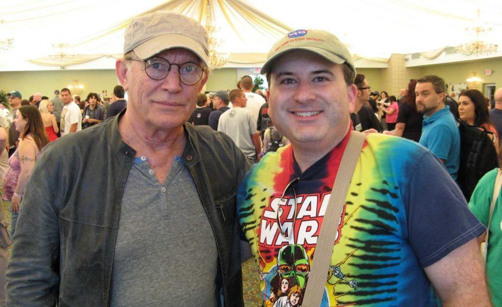Phil with Lance Henriksen