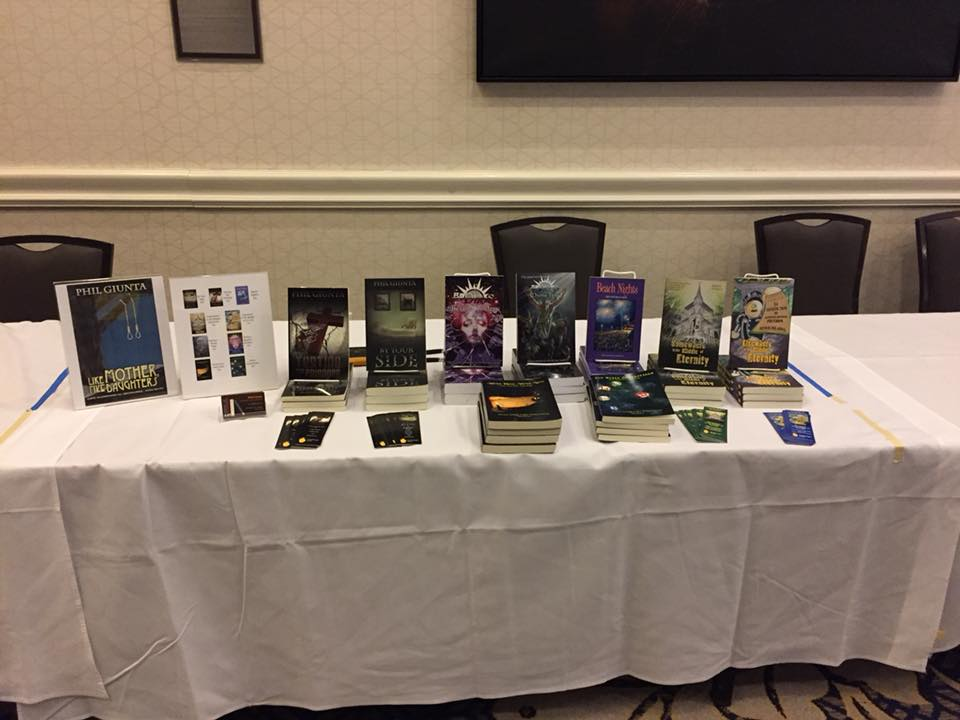 My Farpoint 25 Book Fair Table