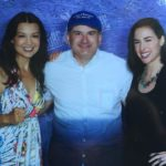 Phil with Ming-Na Wen and Allison Scagliotti