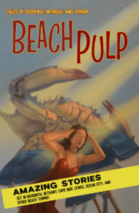 Beach Pulp Front Cover Art by Joe Palumbo